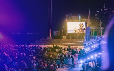 PREMIERES AND UNIQUE OUTDOOR POP-UP CINEMAS GALORE