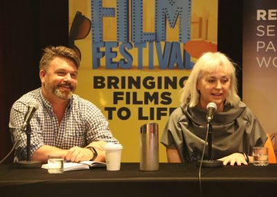 GCFF Panel Matt Deaner and Greer Simpkin