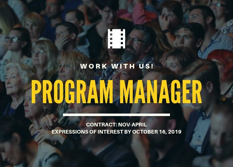 Work with us | Program Manager