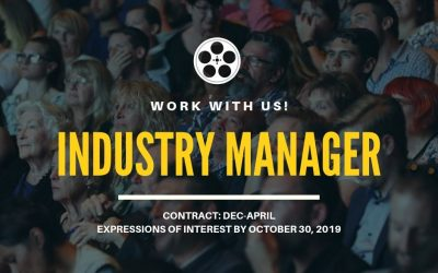 Work with us | Industry Manager