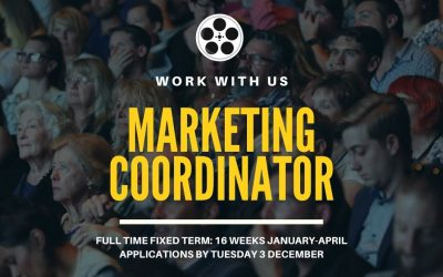 Work with us | Marketing Coordinator