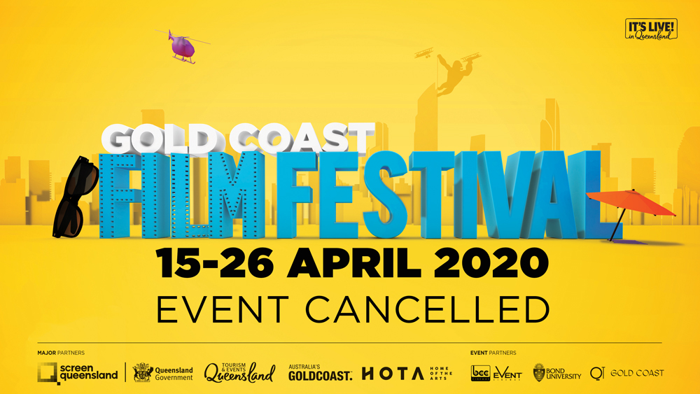 Gold Coast Film Festival 2020 cancelled