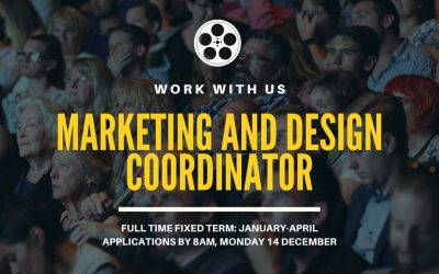 WE ARE HIRING – MARKETING AND DESIGN COORDINATOR