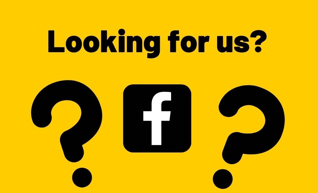 Looking for us on Facebook?