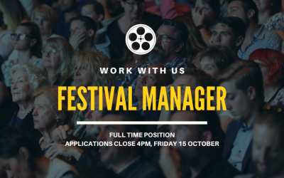 Join the team – Festival Manager